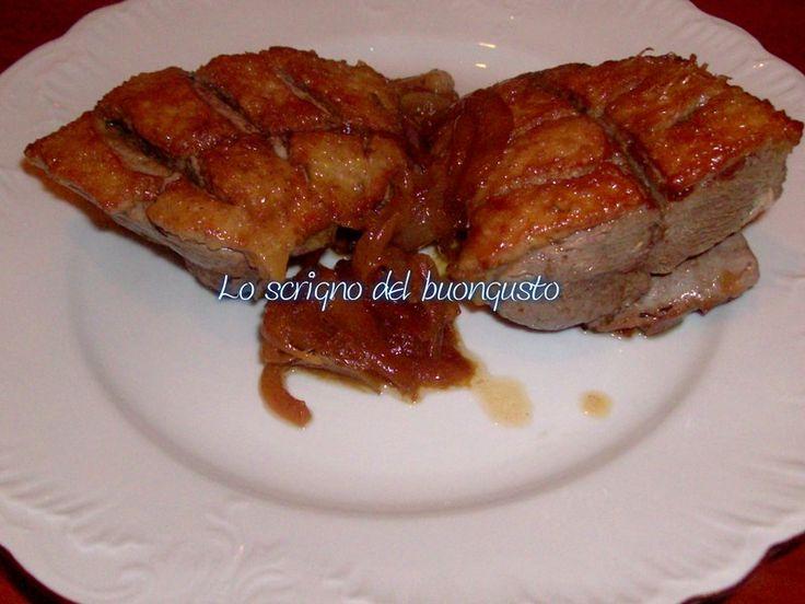 PETTO DI ANATRA FACILE FACILE                              CLICCA QUI PER LA RICETTA http://loscrignodelbuongusto.altervista.org/petto-anatra-facile-facile/                                             #anatra #secondipiatti #foodbloggers #likefood #ricette #cucinaitaliana