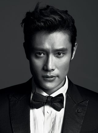 Lee Byung-Hun -- GQ Korea cover, being all kinds of dapper. A HANDSOME KOREAM MAN.