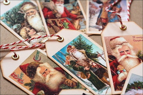 Ho, ho, ho, I love this men!Tags Ideas, Cards Tags