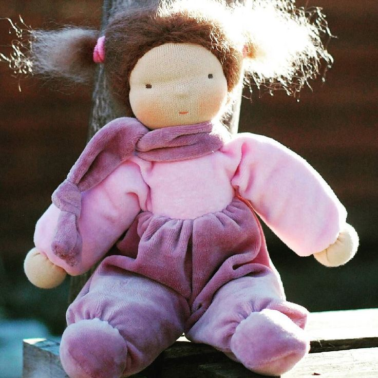 Custom doll for a little girl from Austria. :) #waldorfdoll #waldorf #fromawaldorfmom #naronka #doll #etsyseller
