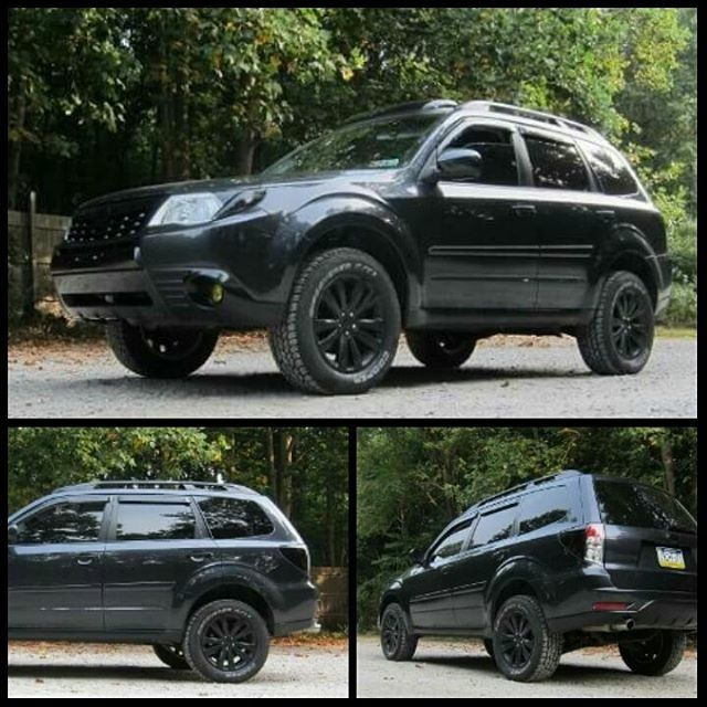 Lifted Forester Subaru Foztrek Fozzy Cars