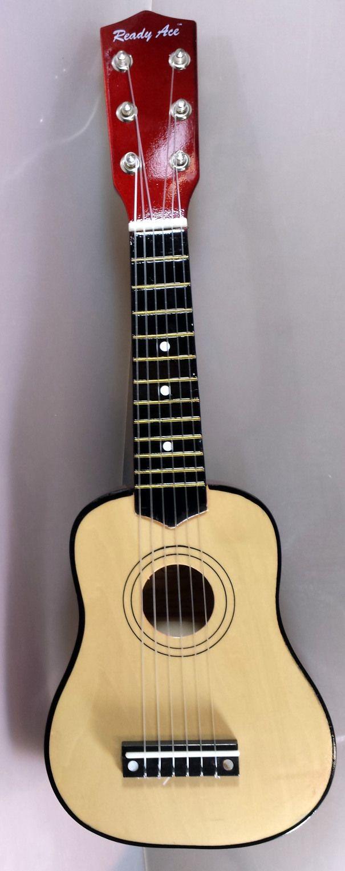 Holz Gitarre Kindergitarre ca 53 cm mit 6 Nylon-Saiten