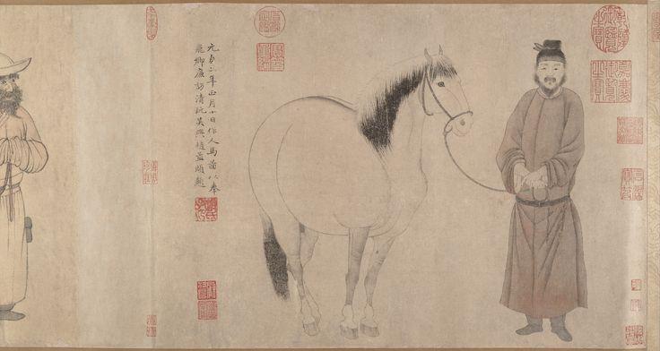 Zhao Mengfu | Lovak és vőlegények | Kína | Yuan-dinasztia (1271-1368) | A Metropolitan Museum of Art