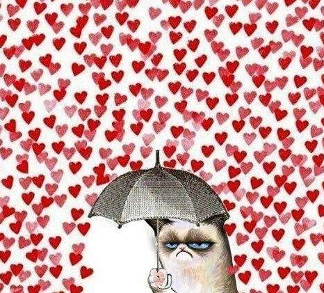 Grumpy Cat против ❤