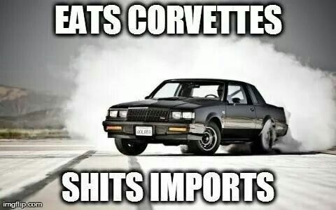 1987 Buick Grand National Meme