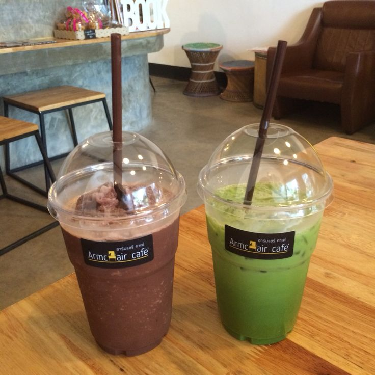 Coco & Milk Green Tea By Armchair cafe