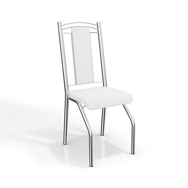 Gostou desta Par de Cadeiras Genebra Cromadas 2c065cr Com Estofado Branco - Kappesberg, confira em: https://www.panoramamoveis.com.br/par-de-cadeiras-genebra-cromadas-2c065cr-com-estofado-branco-kappesberg-3307.html