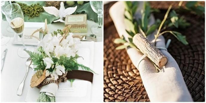 """Un mariage nature chic, ça donne quoi ? """" Mariage.com - Robes, Déco, Inspirations, Témoignages, Prestataires 100% Mariage   Weddbook.com"""