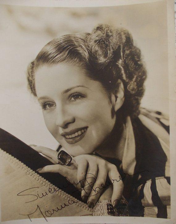 Stunning 1940 Moira Shearer autographed by DaysofYoreTreasures