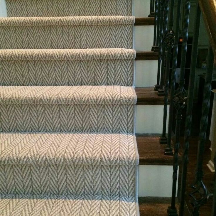 Carpet called Only Natural on stairs by Tuftex