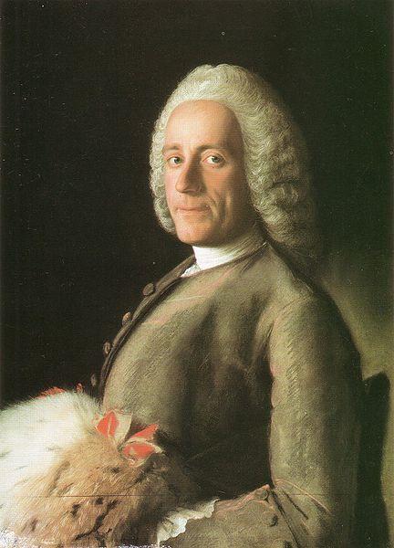Ami-Jean de la Rive, circa 1758 by Jean-Etienne Liotard (1702-1789) (Museum Geneva)
