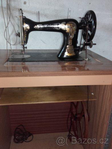 šicí stroj po babičce - 1