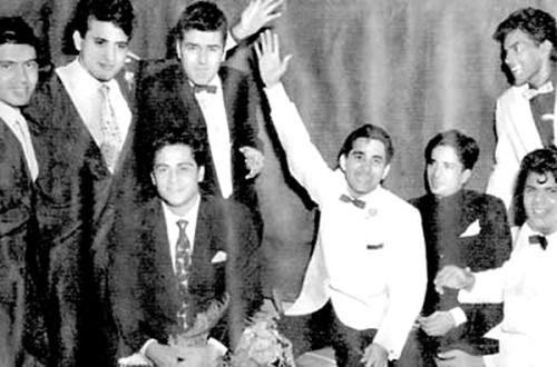 Suresh Suri, Manoj Kumar, Feroz Khan, Joy Mukherji, Sudesh, Shashi Kapoor and Dharmendra