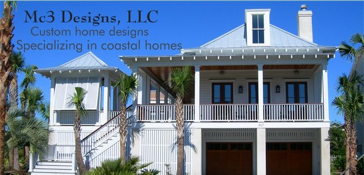 A9b6cc4abf1bc2e99cf266444faf2fa5 Mc3 Designs Llc Custom Home Designs Architect Carl Mccants In On Coastal Home Plans