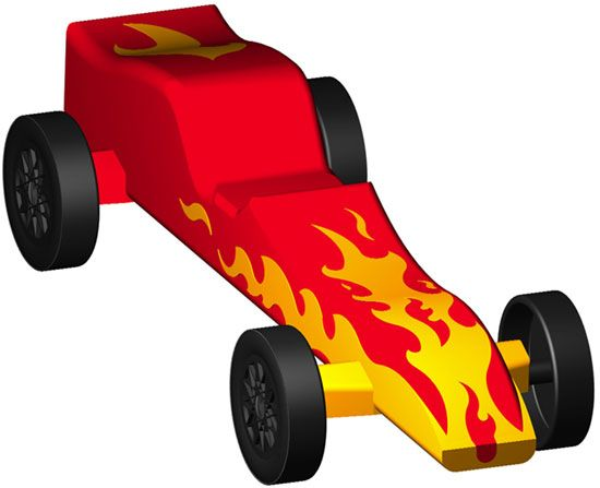 Pinewood derby car designs for speed google search for Pine wood derby car templates