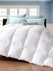 Amazon.com - Cuddledown 450 Thread Count Down Comforter, Oversize King, Level 1 -