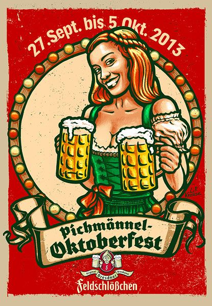 Dresden Oktoberfest Poster www.douze.de