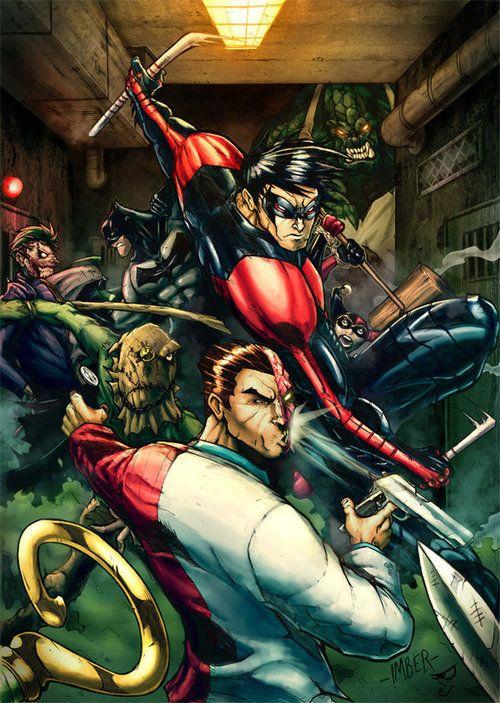 infinity-comics:  Arkham Asylum byChris Imber &amp