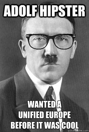 hipster hitler visits the - photo #37