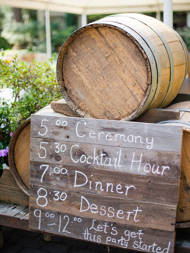 Hello lovelies! Since we're talking vineyard weddings in October, I thought it was the perfect moment for me to round up 20 ways that you can bring a winery theme to your wedding – even…                                                                                                                                                                                 More
