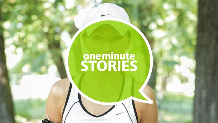 """Living in a busy world, she believes there is no universal recipe to deal with stressful situations. You need to find your """"me-time"""", whatever and wherever it is, and vent your stress. Jogging works for Aga, …what's your way?  #Deloitte #OneMinuteStories #Central #Europe #One #Minute #Stories"""