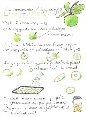 Ik-ook gewoon: Gedroogde appeltjes