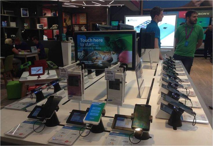 Smart Phone Displays & Interactive Merchandising Solutions @ Tesco Tesco UK
