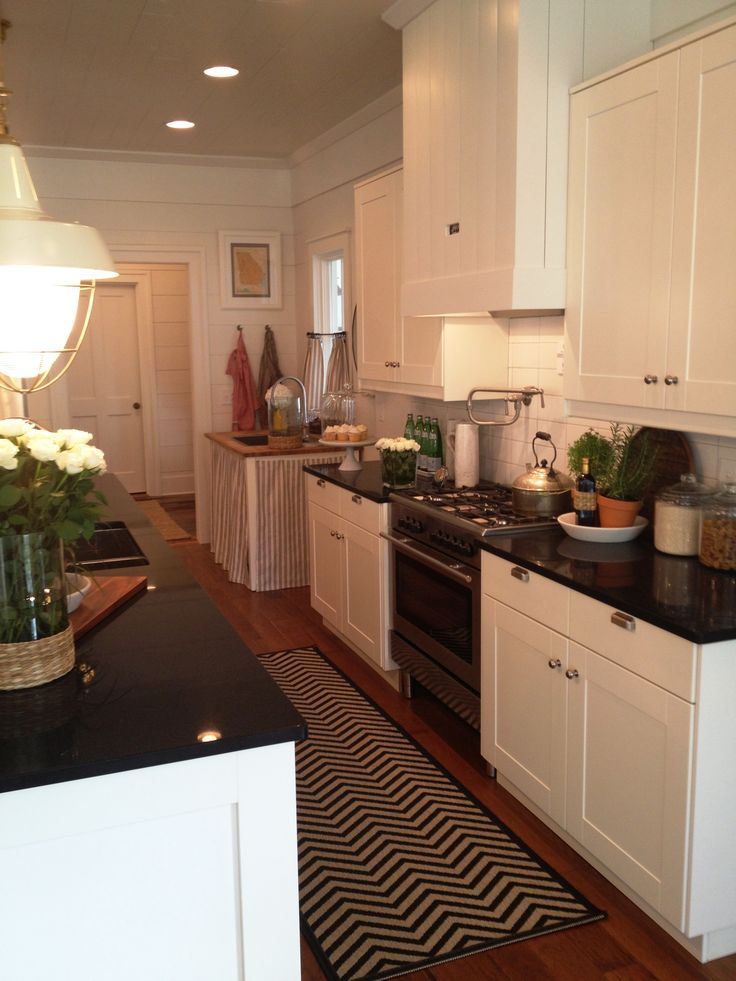 {2012 Southern Living Idea House} Through Our Eyes, Kitchen U0026 Dining. Small  KitchensWhite Galley KitchensIkea ... Part 74