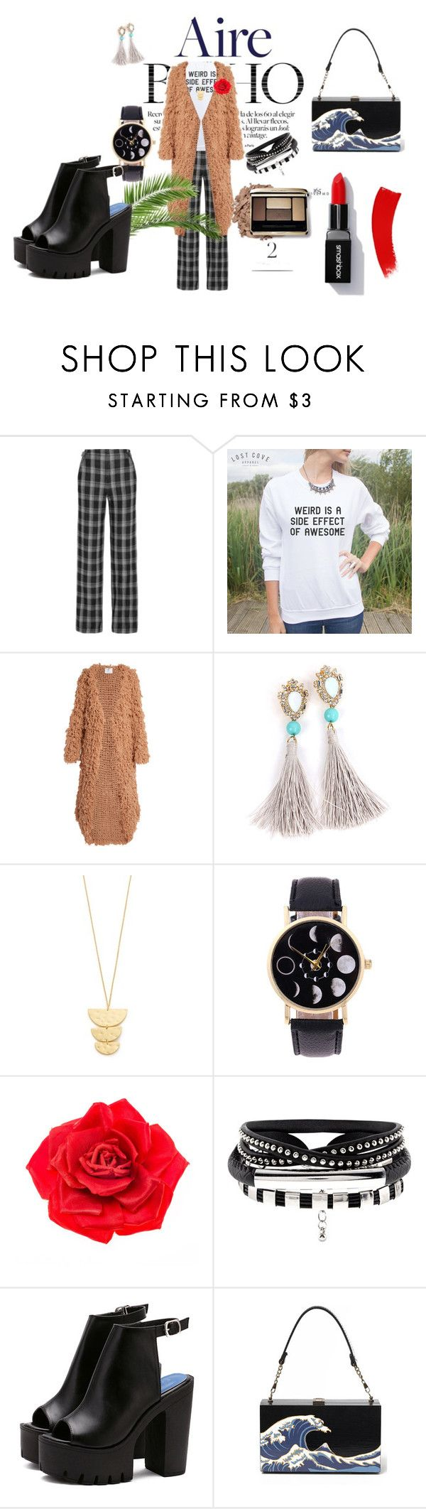 """""""Very Strange Outfit"""" by crystal-goodman-dxxv ❤ liked on Polyvore featuring Proenza Schouler, Ryan Roche, Gorjana, Johnny Loves Rosie, weird and weirdisasideeffectofawesomeness"""