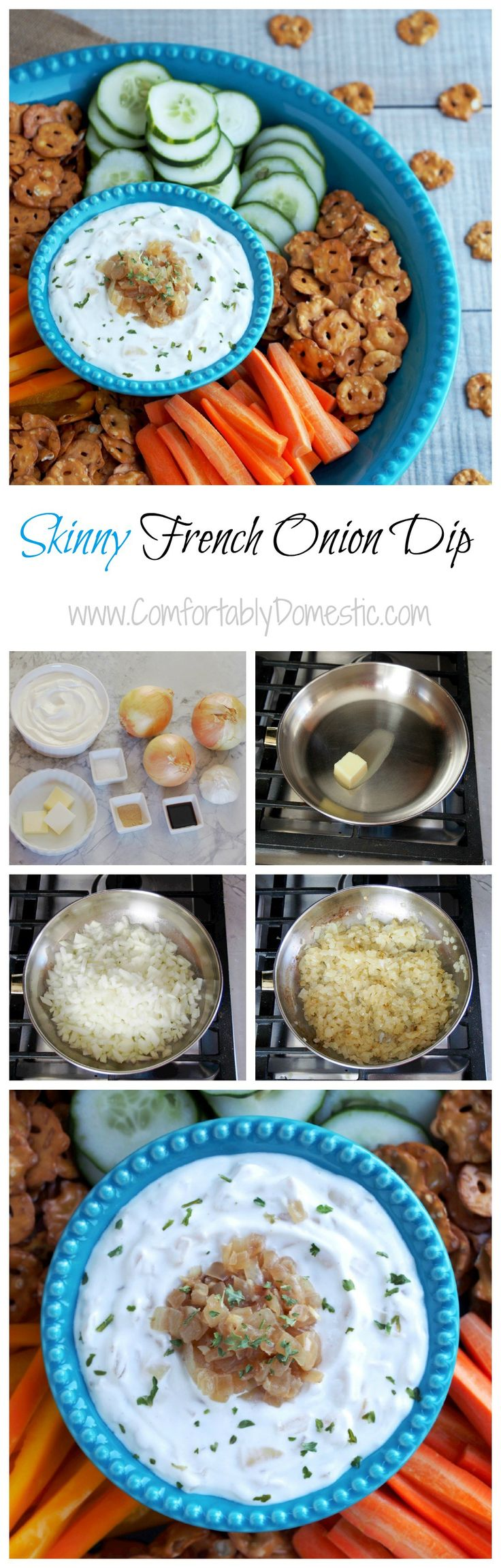 how to make gluten free french onion dip