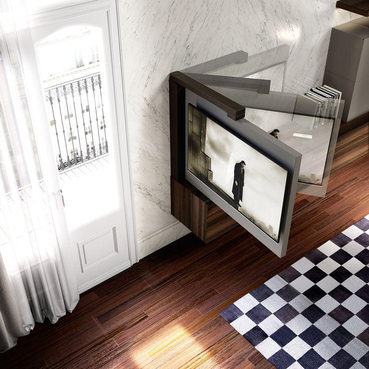 Oltre 25 fantastiche idee su porta tv su pinterest - Porta tv a parete orientabile ...