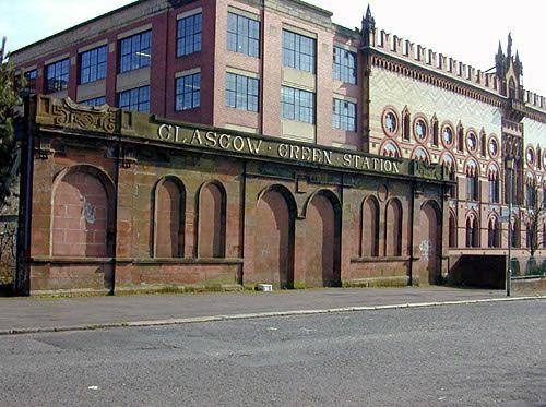 Glasgow Green Station. unused
