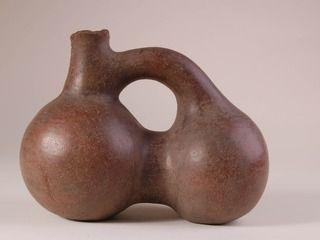 Jarro de cerámica pulida, Norte Chico