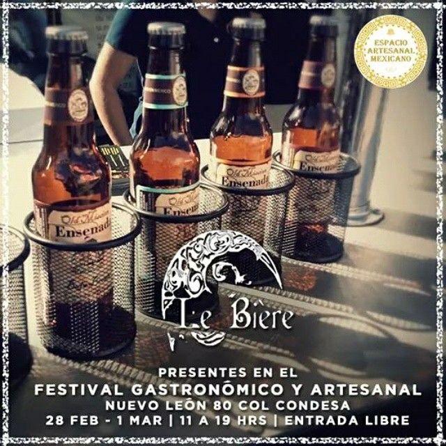 Rubia o morena, no importa mientras este helada y sea artesanal. Te esperamos este 28 de febrero y 1 de marzo a disfrutar una refrescante #cerveza de Le Bière en el 10° Festival Gastronómico y Artesanal a partir de las 11 am hasta las 7 pm. 28 de febrero 1 de marzo Nuevo Leon 80 Col Condesa México DF.   Visitanos!!