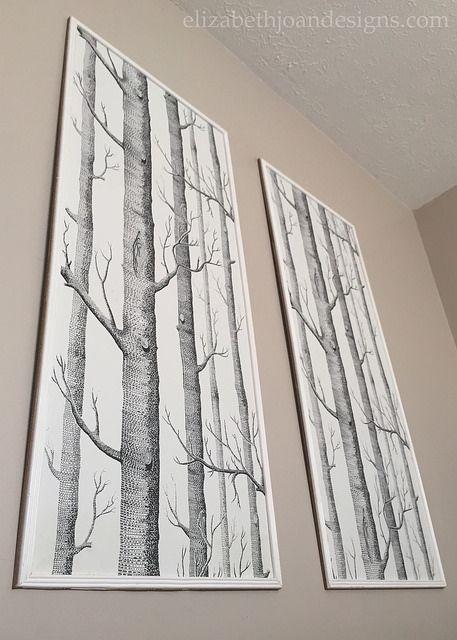 Framed Wallpaper Panels -                                                                                                                                                     More