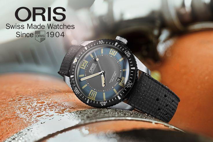 Oris Divers Sixty-Five, revival di un iconico orologio subacqueo apparso per la prima volta in una collezione Oris 50 anni fa.
