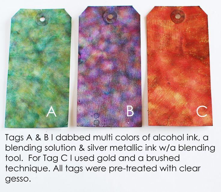Craft Product Review: Jacquard Pinata Metallic Alcohol Inks | Craft Test Dummies