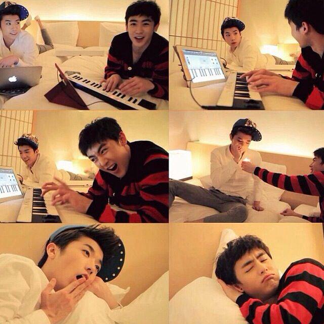 2PM Wooyoung Nichkhun