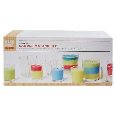 Hand Made Modern Soy Candle Making Kit,