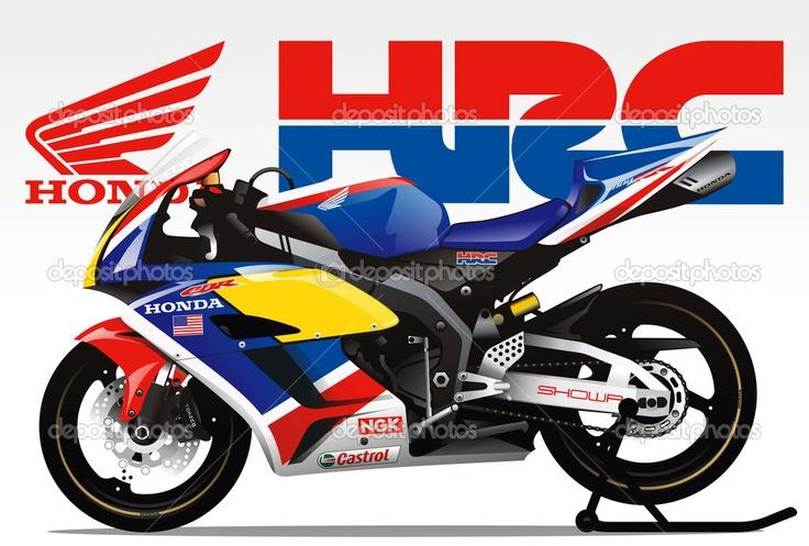 33 best images about Honda hrc on Pinterest  Legends