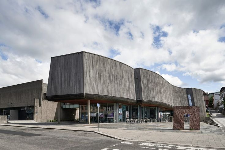 Snøhetta has extended the Lillehammer Art Museum and Cinema in Norway