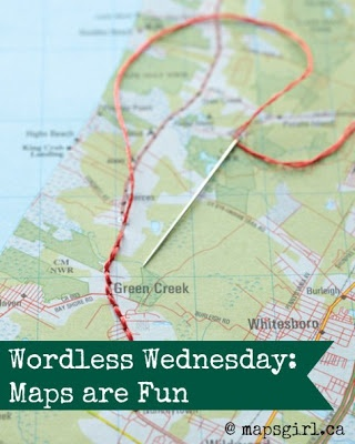 funny things are everywhere: ww: #maps are fun! #gis #pinterest