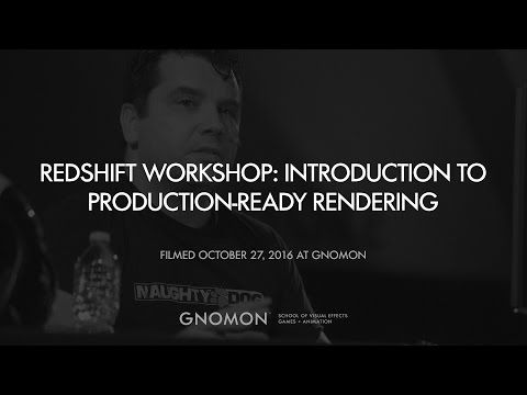 3D Rendering Redshift Workshop with Christophe Desse - YouTube