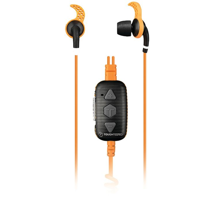 Tough Tested Marine Noise-isolating Earbuds With Microphone