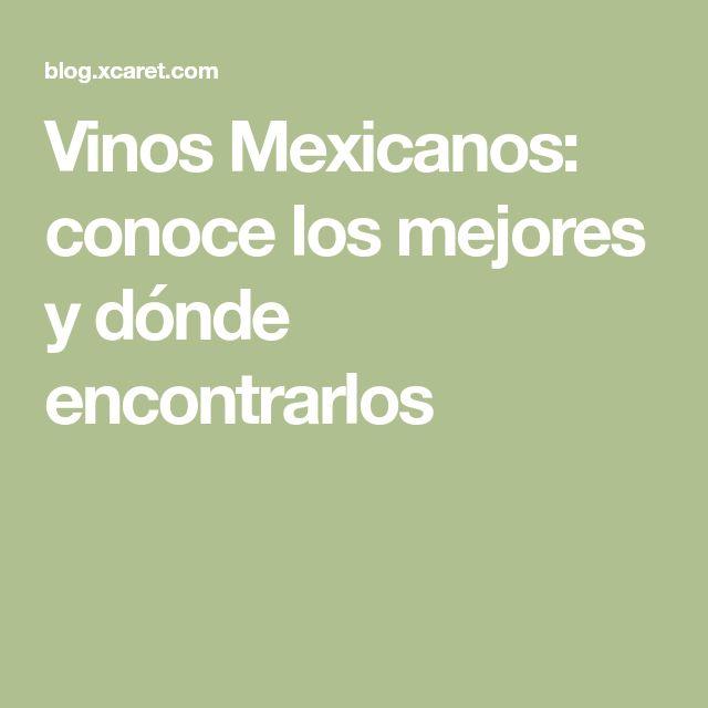 Vinos Mexicanos: conoce los mejores y dónde encontrarlos