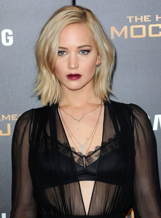 jennifer lawrence�s bob haircut is totally fab loveit