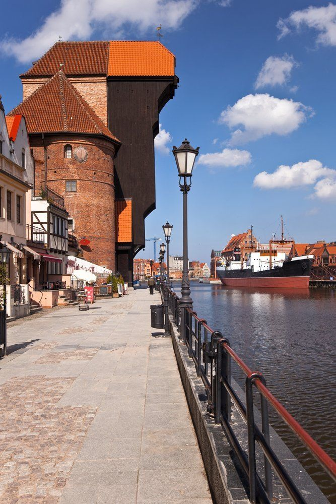 Gdańsk has the biggest harbor in Poland. It's a part of the Tri-city (Gdańsk - Sopot - Gdynia) area. There are many wonderful areas around Gdańsk like the Hel Peninsula or Masurian Lake District. Landscape created by the water - bays and