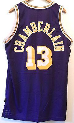 fda22e54b ... Lakers Jersey L Length 2 Wilt Chamberlain 13 Reebok Hardwood Classics  Vintage eBay Wilt Chamberlain Los Angeles Lakers Gold Swingman ...