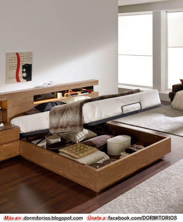 17 mejores ideas sobre camas modernas en pinterest for Dormitorio matrimonio cama canape