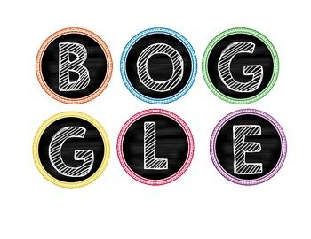 Boggle Freebie!!! I created this document because I wanted to use Boggle in my…